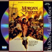 Morgan The Pirate Mega-Rare LaserDisc Steve Reeves Adventure