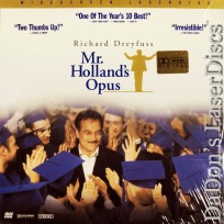 Mr. Holland\'s Opus AC-3 WS NEW Rare LaserDisc Dreyfuss Dukakis Drama