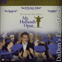 Mr. Holland\'s Opus DTS WS LaserDisc Rare LD Dreyfuss Drama