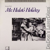 Mr. Hulot\'s Holiday Criterion #21 Vintage LaserDisc Foreign Comedy *CLEARANCE*