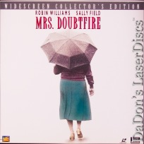 Mrs. Doubtfire LaserDisc Box WS THX DSS Robin Williams Comedy