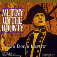 Mutiny on the Bounty WS 1962 LaserDisc Brando Howard