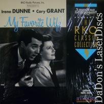 My Favorite Wife 1940 RKO LaserDisc Grant Dunne Comedy