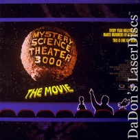 Mystery Science Theater 3000 The Movie WS LaserDisc