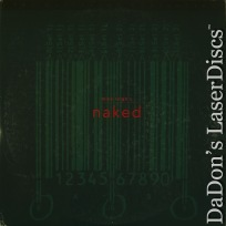Naked DSS WS LaserDisc Criterion #234 Rare LD Leigh Drama
