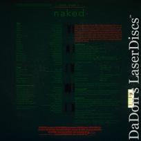 Naked DSS WS LaserDisc Criterion #234 Rare LD Leigh Drama