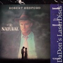 The Natural WS Pioneer Special Ed PSE LaserDisc Redford Sports Drama