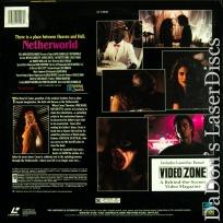 Netherworld LaserDisc Rare Full Moon Cult LD Horror *CLEARANCE*