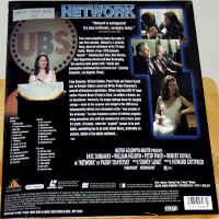 Network WS Rare LaserDisc Dunaway Holden Duvall Finch