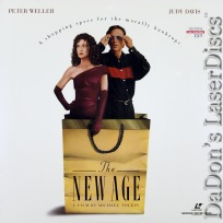The New Age Rare LaserDisc NEW WS Weller West Davis Drama