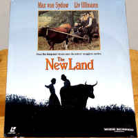 The New Land Rare LaserDisc Ullmann Von Sydow Drama Foreign
