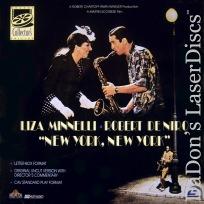 New York, New York WS CAV NEW LaserDisc Box DeNiro Musical Drama