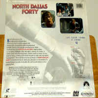 North Dallas Forty WS LaserDisc Nolte Davis Durning