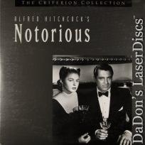 Notorious Criterion #100 Rare LaserDisc Grant Hitchcock