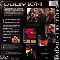 Oblivion Rare LaserDisc Full Moon LD Takei Futuristic Frontier Sci-Fi
