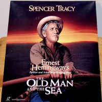 The Old Man and the Sea Rare NEW LaserDisc Tracy Drama