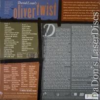 Oliver Twist Rare Remastered NEW Criterion LaserDisc #267 Drama