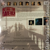 Once Upon a Time in America WS LaserDisc De Niro *CLEARANCE*