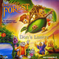 Once Upon a Forest LaserDisc Crawford Vereen Cartoon