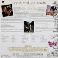 Only You Widescreen Rare Romantic Comedy LaserDisc Tomei Downey