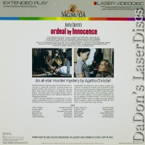 Ordeal by Innocence 1985 Rare NEW LaserDisc Donald Sutherland Thriller