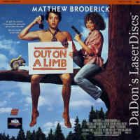 Out on a Limb Rare LaserDisc Matthew Broderick Heidi Kling Comedy