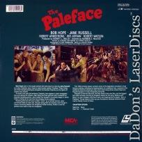 The Paleface Encore LaserDisc Bob Hope Russel Comedy