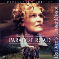 Paradise Road AC-3 WS NEW LaserDisc Close Blanchett Drama