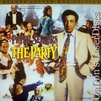 The Party WS 1968 Peter Sellers Rare LaserDisc Comedy