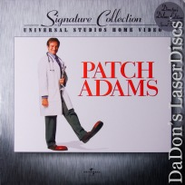 Patch Adams AC-3 WS NEW Signature Collection LaserDisc Comedy