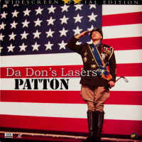 Patton AC-3 WS THX Rare LaserDisc LD Scott Malden War Drama