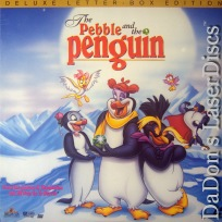 The Pebble and the Penguin WS NEW Rare LaserDisc Short Animation