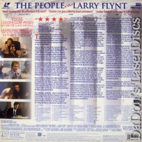 The People vs. Larry Flynt DSS WS NEW LaserDisc Harrelson Love Drama