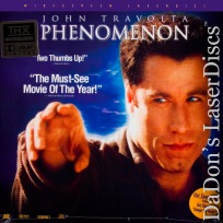 Phenomenon AC-3 THX WS NEW LaserDisc Travolta Sedgwick Sci-Fi