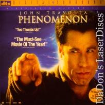 Phenomenon DTS THX WS NEW LaserDisc Travolta Sedgwick Sci-Fi