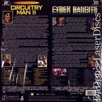 Plughead Rewired Circuitry Man 2 / Cyber Bandits LaserDisc Sci-Fi