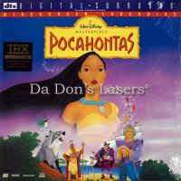 Pocahontas DTS THX WS Rare NEW LaserDisc Gibson Disney