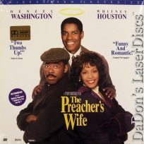 The Preacher\'s Wife AC-3 WS NEW LaserDisc Washington Comedy