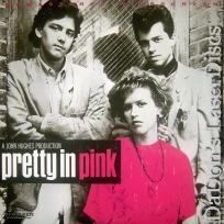 Pretty in Pink WS Remastered LaserDisc Ringwald Stanton