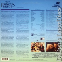 The Princess Bride DSS WS Criterion #40A LaserDisc Elwes Comedy