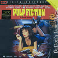 Pulp Fiction DTS THX WS Rare LaserDisc Tarantino Travolta Comedy