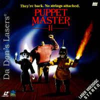 Puppet Master 2 Full Moon Rare NEW LD Cult Horror