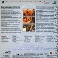 Real Genius DSS WS Rare LaserDisc Kilmer Jarret Comedy