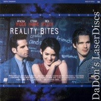 Reality Bites Widescreen LaserDisc Ryder Hawke Stiller Comedy