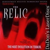 The Relic AC-3 WS Rare LaserDisc Miller Sizemore Horror