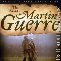 The Return of Martin Guerre WS Criterion #315 NEW LaserDisc Foreign French Drama