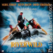 The River Wild DTS Widescreen LaserDisc Streep Bacon Strathairn Thriller