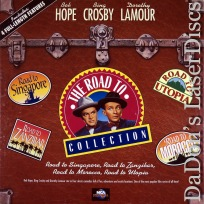 The Road To Collection LaserDisc Box Crosby Hope Comedy