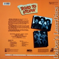 Road To Utopia Encore Rare LaserDisc Hope Crosby Lamour Comedy