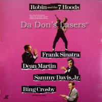 Robin and the 7 Hoods WS NEW LaserDisc Sinatra Martin Comedy